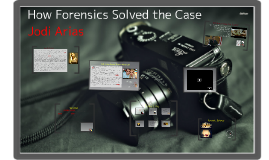 Copy of How Forensics Solved the Case