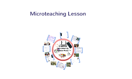 Microteaching Lesson