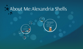 About Me:Alexandria Shells