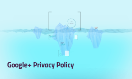 Google+ Privacy Policy
