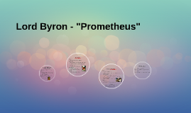 "Lord Byron - ""Prometheus"""
