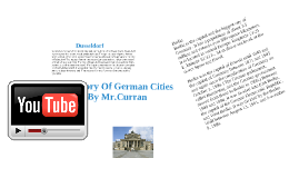 History Of German Cities