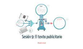 Copy of Sesión 9; El texto publicitario