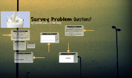 Survey Problem