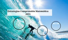 Copy of Estrategias Comprensión Matemática