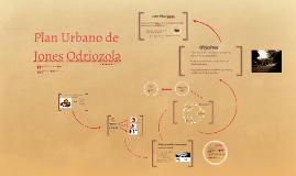 Plan Urbano de Jones Odriozola