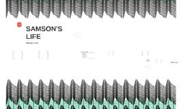 SAMSON'S LIFE