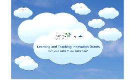Learning and Teaching Innovation Grants