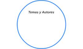 Temas y Autores