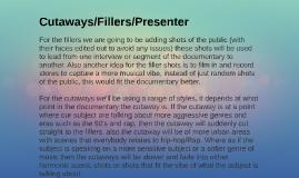 Copy of Cutaways/Fillers/Presenter