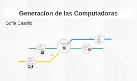 Generacion de las Computadoras