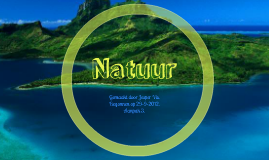 Presentatie natuur