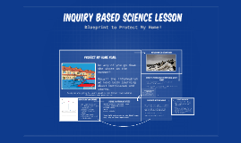 Inquiry Based Science LESSON