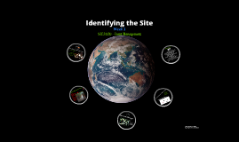SEE2020 - Identifying the Site