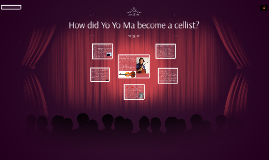 How did Yo Yo Ma become a cellist?