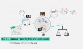 Producción y marketing de los artículos de consumo