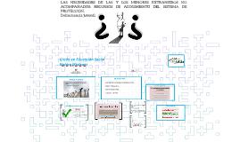 Copy of Copy of LAS NECESIDADES DE LAS Y LOS MENORES EXTRANJEROS NO ACOMPAÑA
