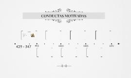 CONDUCTAS MOTIVADAS