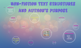 Non-Fiction Text Structures and Author's Purpose (RI 8.5)