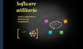 Software utilitario