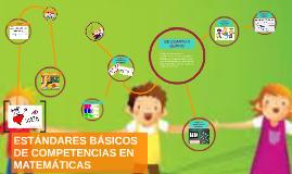 Copy of ESTÁNDARES BÁSICOS DE COMPETENCIAS EN MATEMÁTICAS