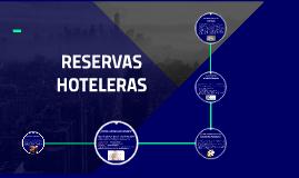RESERVAS HOTELERAS