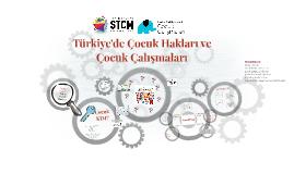 Türkiye'de Çocuk Çalışmaları