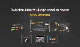 Production d'aliments d'origin animal au xique