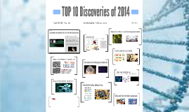 TOP 10 Discoveries of 2014