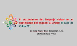 Lenguaje vulgar_Subtitulado_Español_Árabe