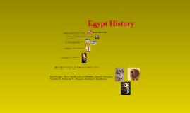 History of Egypt from the beginning till the present