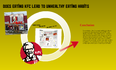 Copy of Does eating KFC lead to bad eating habits?