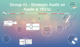 Group #1 - Strategic Audit on Apple & TECU.