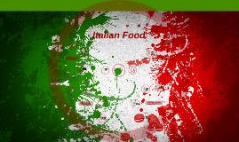 Copy of Italian Food
