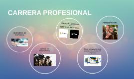 Copy of CARRERA PROFESIONAL