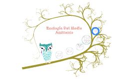 Ecología Del Medio Ambiente
