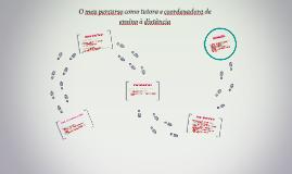 Copy of O meu percurso como tutora on-line