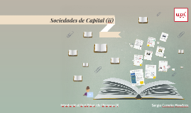 Sociedades de Capital (ii)