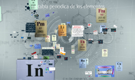 Copy of La tabla periodica