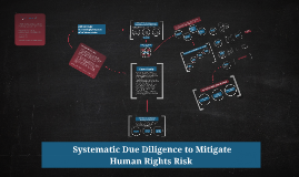 Mitigating Human Rights Risk through Systematic Due Diligence