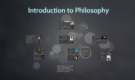 Copy of Introduction to Philosophy
