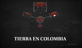 TIERRA EN COLOMBIA