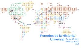 Periodos de la Historia Universal