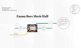 Emma Boes Music Hall