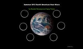 Summer 2012 North American Heat Wave