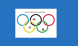 Ancient Greek Olympic Events