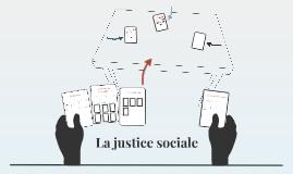 La justice sociale