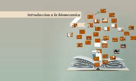 Copy of introduccion a la biomecanica