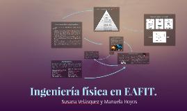 Ingeniería física en EAFIT.