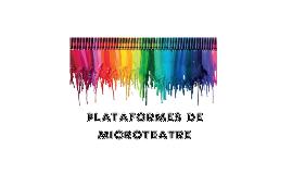 2019 MICROTEATRE PROJECTE